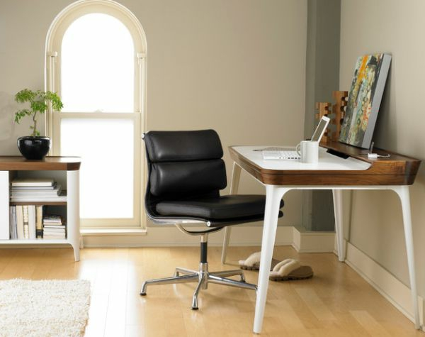 Un bureau design scandinave vous offre du confort et du plaisir