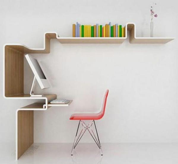 Un bureau design scandinave vous offre du confort et du