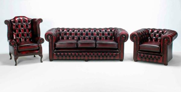 le canap cuir vintage le chic et le fabuleux confort. Black Bedroom Furniture Sets. Home Design Ideas