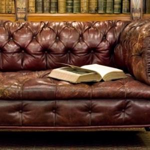 Le canapé cuir vintage - le chic et le fabuleux confort qui ont traversé le temps