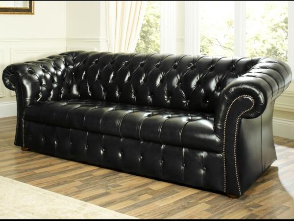 le canap cuir vintage le chic et le fabuleux confort qui ont travers le temps. Black Bedroom Furniture Sets. Home Design Ideas