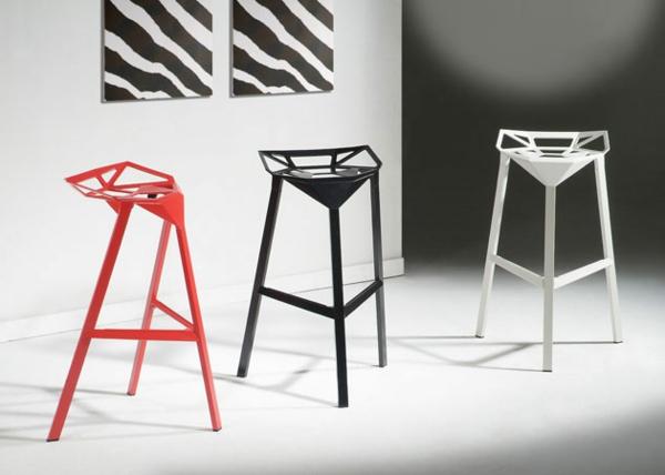chaise-haute-de-bar-aluminium