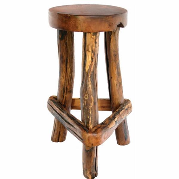 les concepteurs artistiques chaise de bar en bois rustique. Black Bedroom Furniture Sets. Home Design Ideas