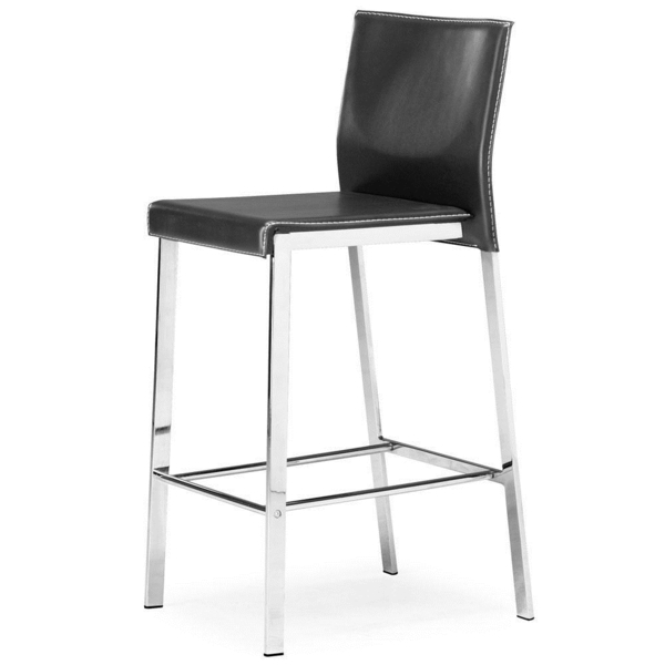 chaise-haute-de-bar-cuir-boxter