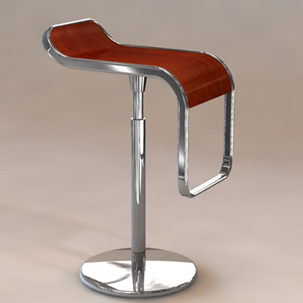 chaise-haute-de-bar-design-moderne-chrome