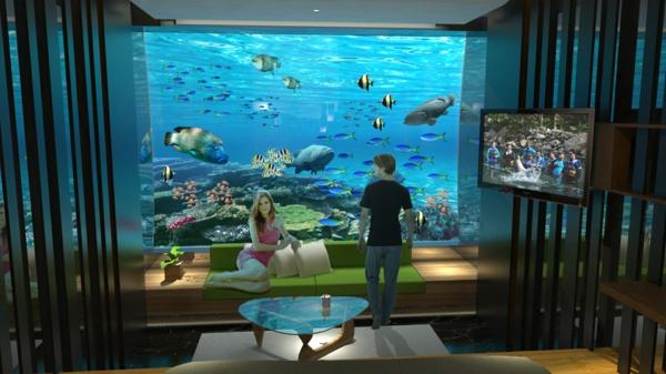 chambre-de-luxe-sous-marine-table-basse-et-tv