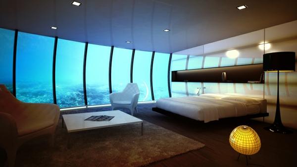 Deco Chambre Hotel : Le design d une chambre hôtel de luxe sous marine