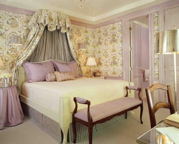 chambre-de-style-anglais-chambre-à-coucher