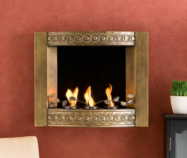 cheminee-decorative-idee-cadre