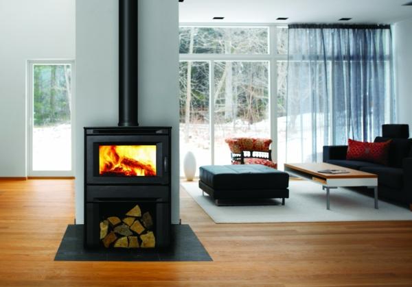 cheminee-decorative-idee-hiver