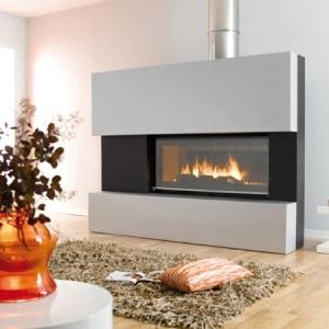 Une cheminée décorative réchauffera votre intérieur en toute sécurité
