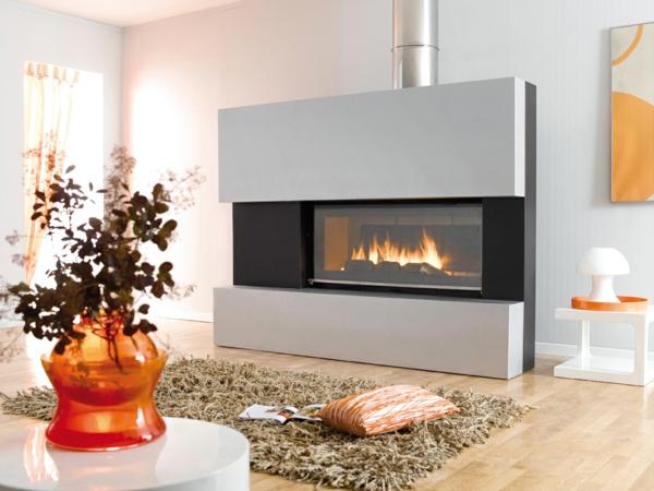 idee cheminee design beautiful chemine design pour votre. Black Bedroom Furniture Sets. Home Design Ideas