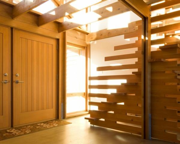 les cloisons en bois attribuent une beaut 233 accueillante de vos habitations