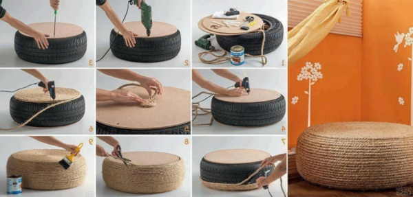 Le pouf canap 40 id es - Comment fabriquer un canape ...