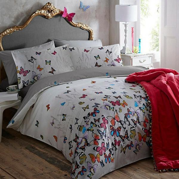 La couette imprim e est le v tement joli de votre lit - Couette de lit duvet ...