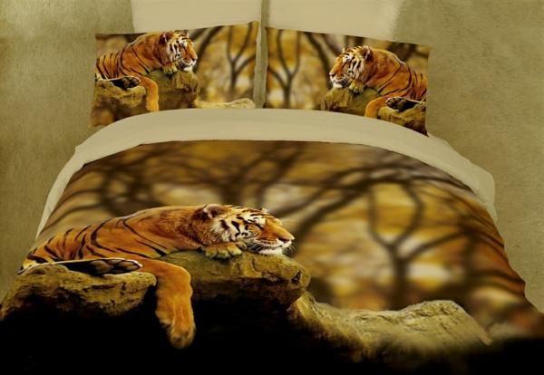 couette-imprimée-avec-des-tigres