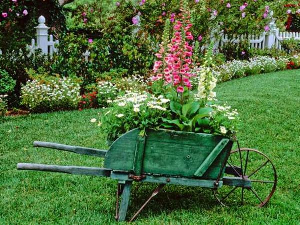 déco jardin style campagne