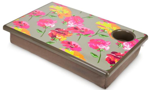 coussin-ordinateur-portable-avec-fleurs