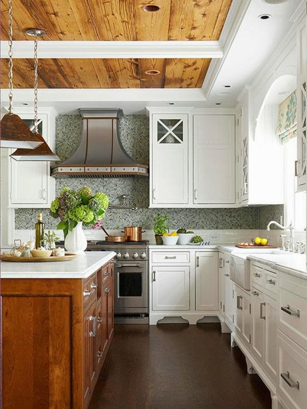 les plus belles cuisines rustiques en images. Black Bedroom Furniture Sets. Home Design Ideas