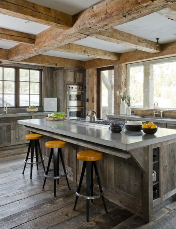 cuisines-rustiques-moderne