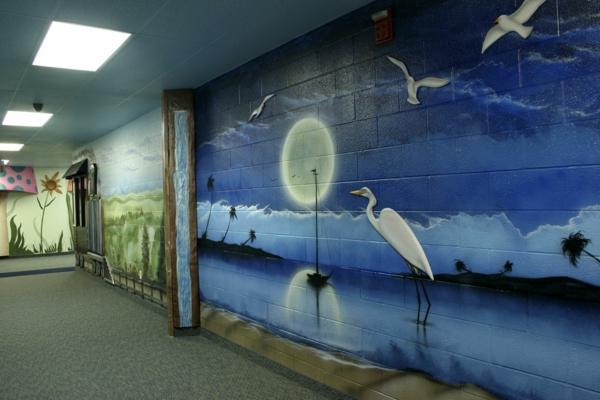 décoration-murale-originale-couloir