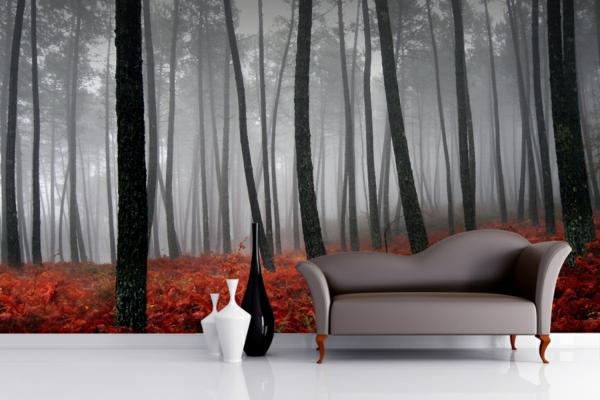 décoration-murale-originale-forêt