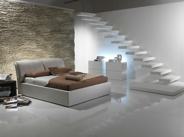 dallage-en-pierre-naturelle--sur-le-mur-d'une salle-moderne