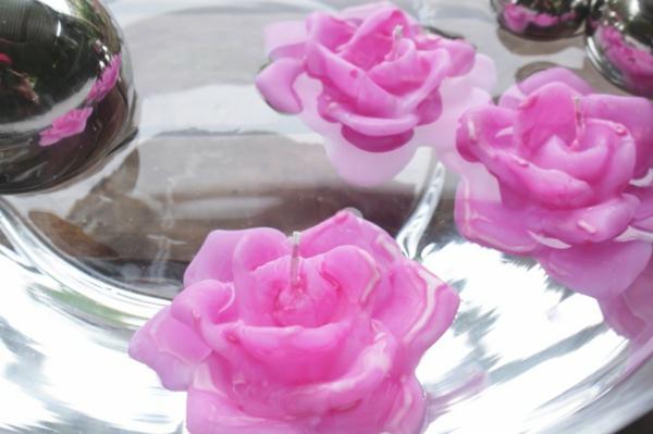 rose-bougie-fleur-flottante