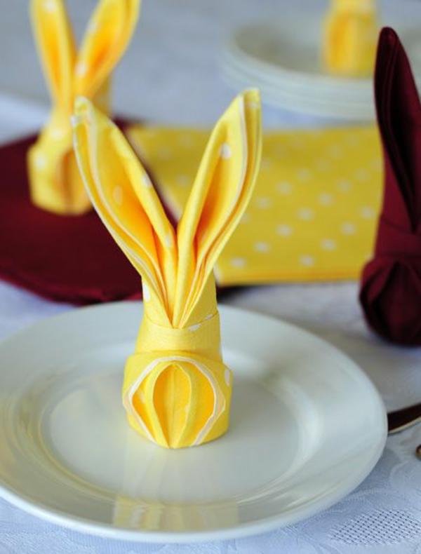 deco-serviette-papier-lapins