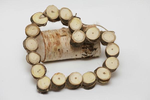 La d coration en bois des id es et des exemples inspirantes - Decoration coeur en bois ...