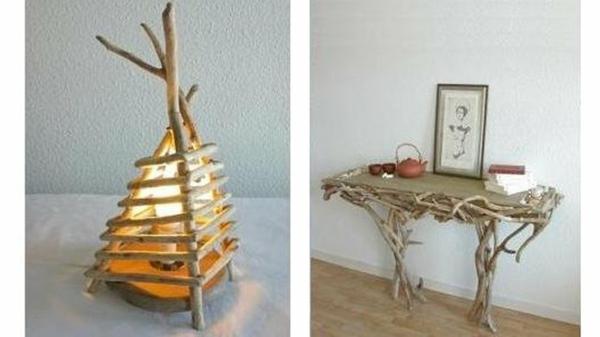 decoration-en-bois-flotte-pour-table-et-luminaire