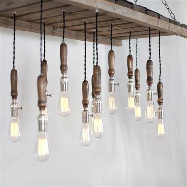 La d coration en bois des id es et des exemples inspirantes for Deco avec palette bois