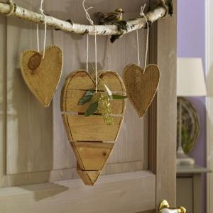 La décoration en bois - des idées et des exemples inspirantes!