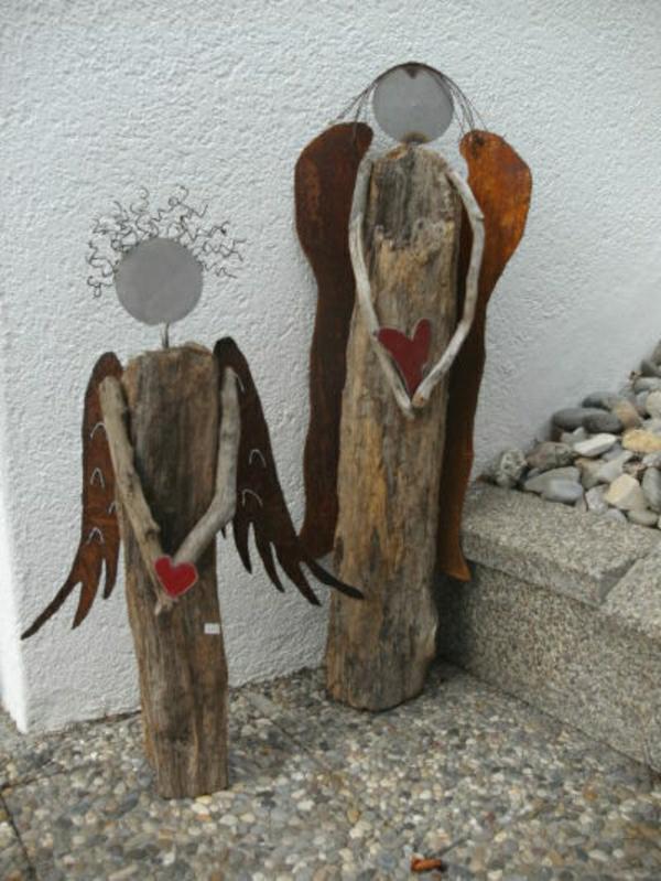 decoration-en-bois-sculptures-silhouttes