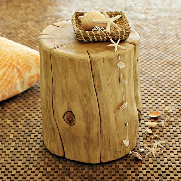 La décoration en bois des idées et des exemples inspirantes! # Buche De Bois Décorative