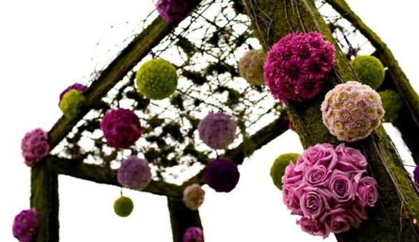 decoration-florale-pour-mariage-a-suspendre