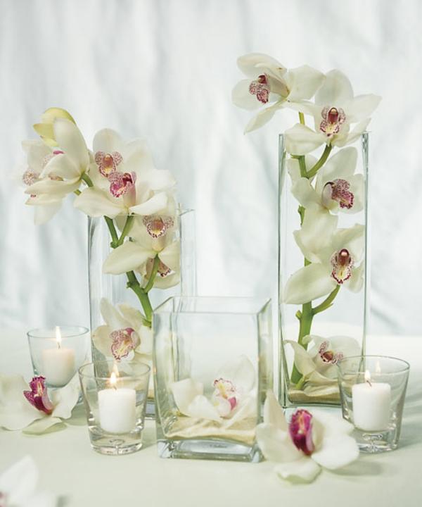 la d coration florale pour mariage le jeu inspirant de. Black Bedroom Furniture Sets. Home Design Ideas