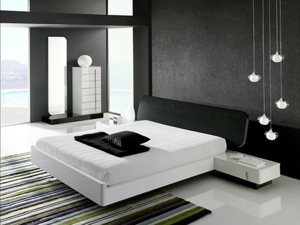 la d coration noir et blanc vous surprenda avec style et chic. Black Bedroom Furniture Sets. Home Design Ideas