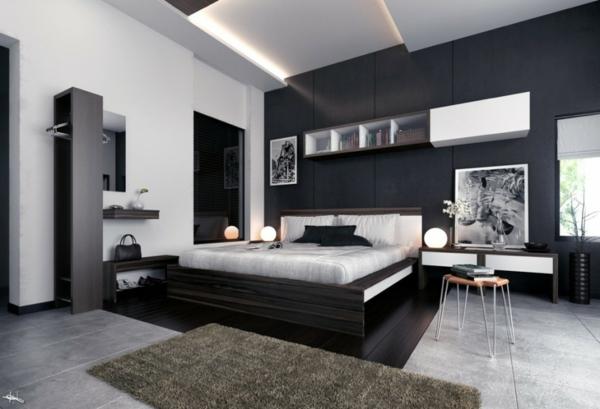 Awesome Deco Noir Et Blanc Chambre Galerie Idées Décoration .