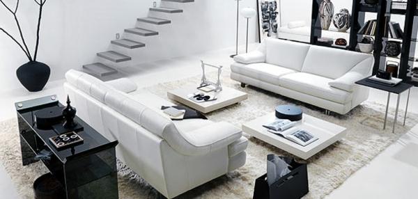 Beautiful Deco Salon Avec Escalier Ideas - Design Trends 2017 ...
