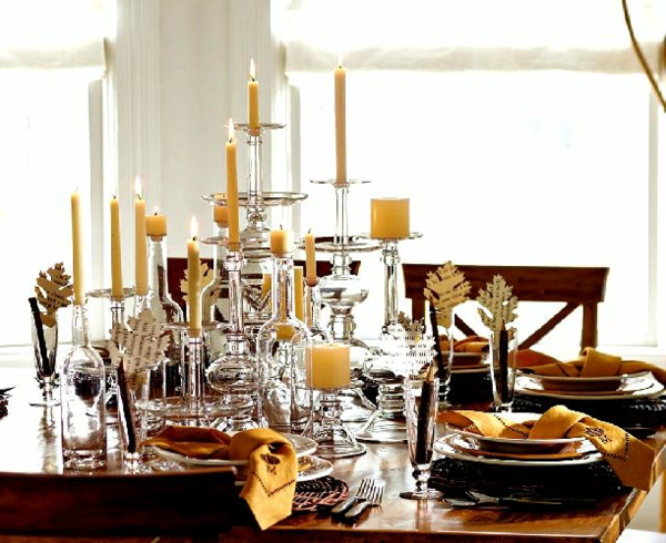 decoration-nouvel-an-table-bougies