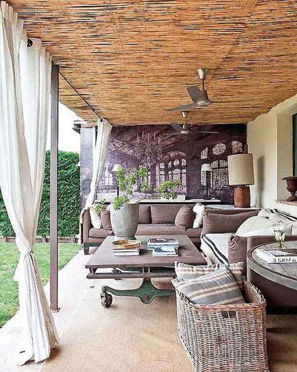 deco terrasse exterieure. Black Bedroom Furniture Sets. Home Design Ideas