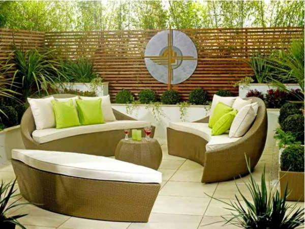 Decoration Terrasse Exterieure Moderne. Amenagement Petite ...