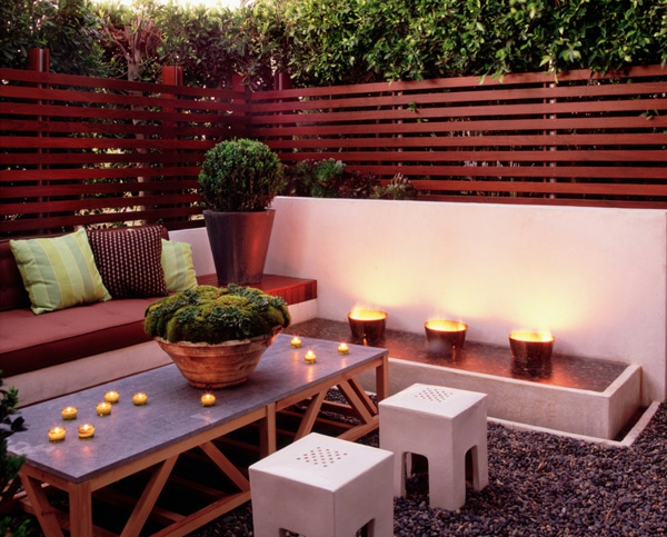 La d coration terrasse ext rieur des id es pour for Decoration terrasse