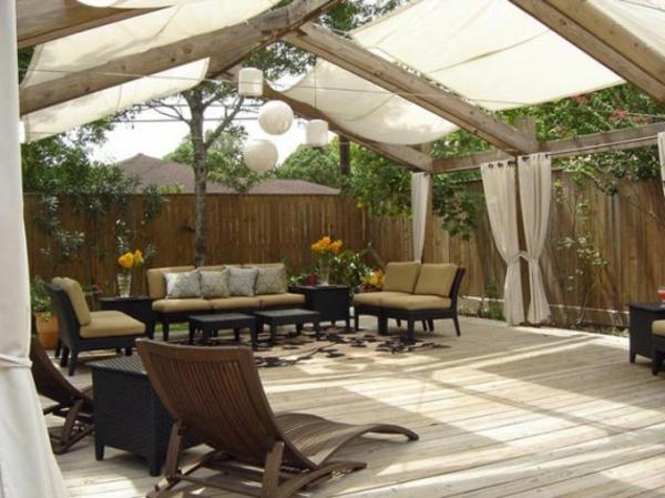 la d coration terrasse ext rieur des id es pour. Black Bedroom Furniture Sets. Home Design Ideas