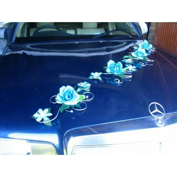 decoration-voiture-mariage-turquoise-argent-voiture