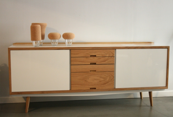 Une enfilade scandinave pourquoi ne pas donner un look for Buffet enfilade but