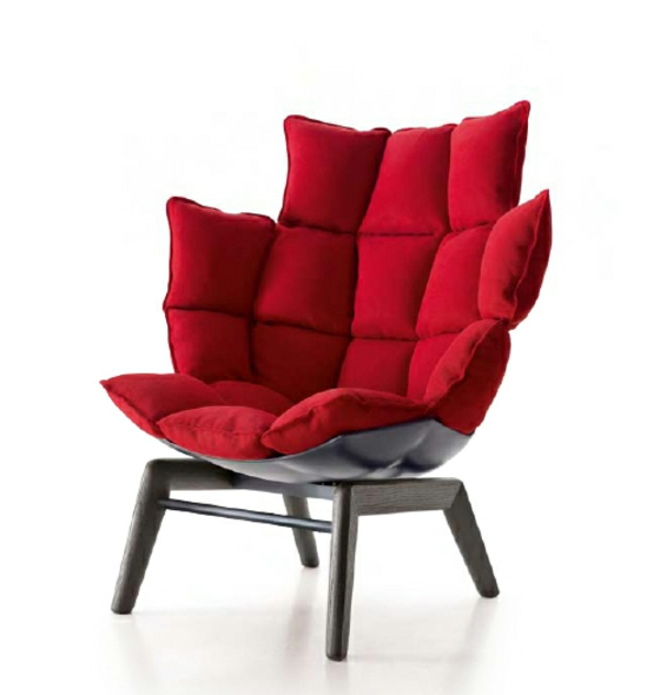 une fauteuil design rouge l 39 expression des mes passionn es. Black Bedroom Furniture Sets. Home Design Ideas