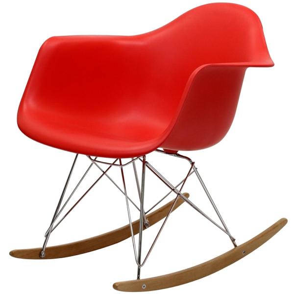fauteuil-design-rouge-en-plastic