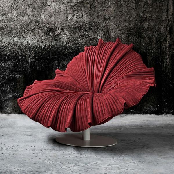 fauteuil-design-rouge-futuriste